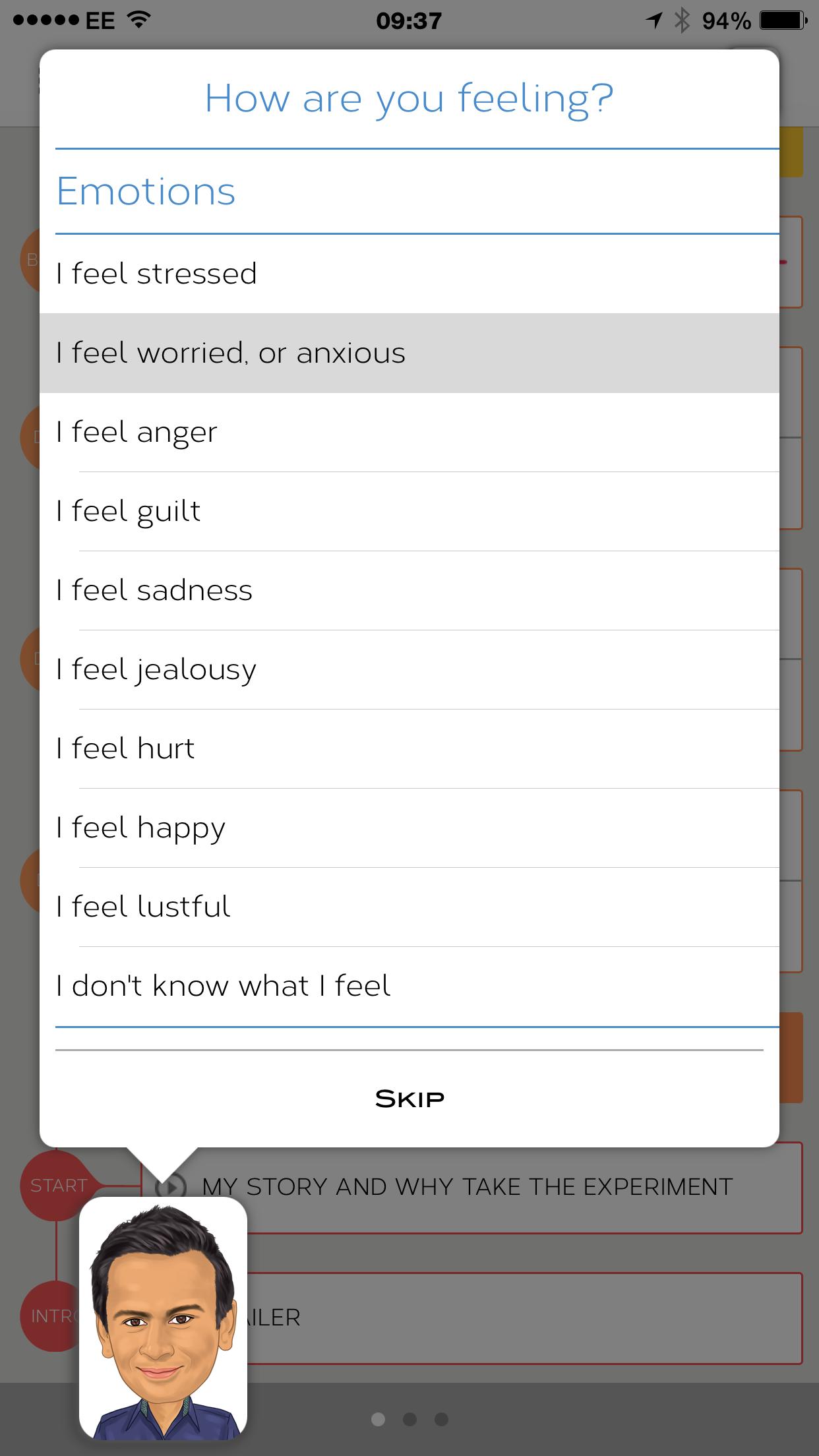 How are you feeling screenshot 1